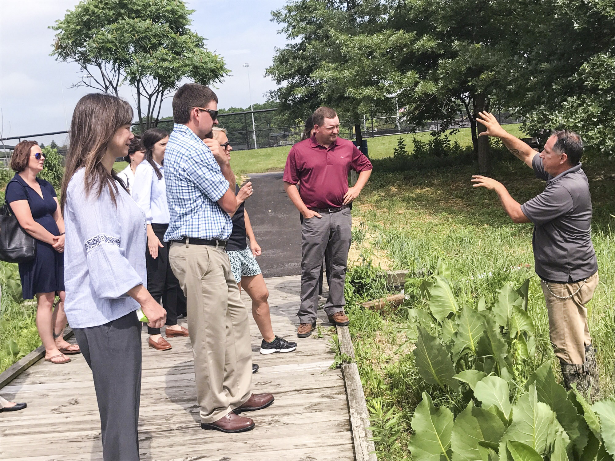 Carroll County Farm Bureau Tours Adopted Lawmaker's Suburban District