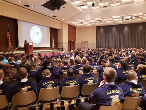 Farm Bureau Acquaintance Day draws hundreds of FFA members