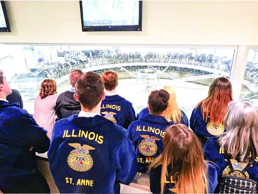 Fair Oaks an adventure for Kankakee Young Leaders, four FFA chapters
