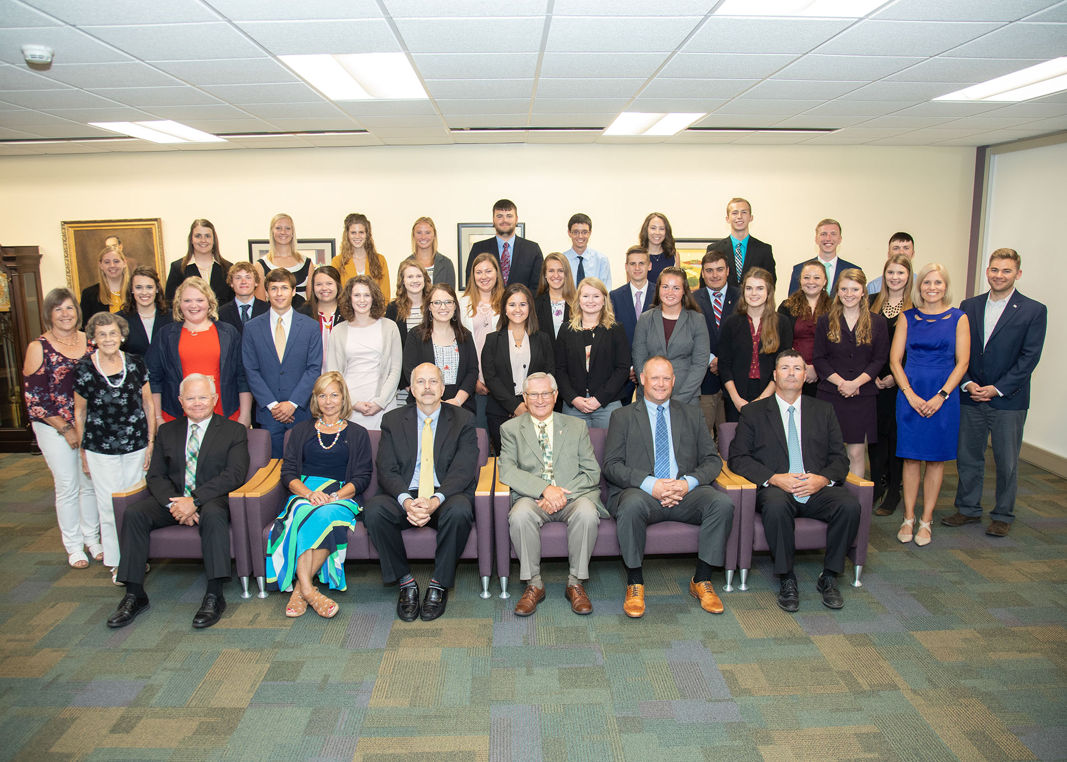 IAA scholarship recipients receive recognition