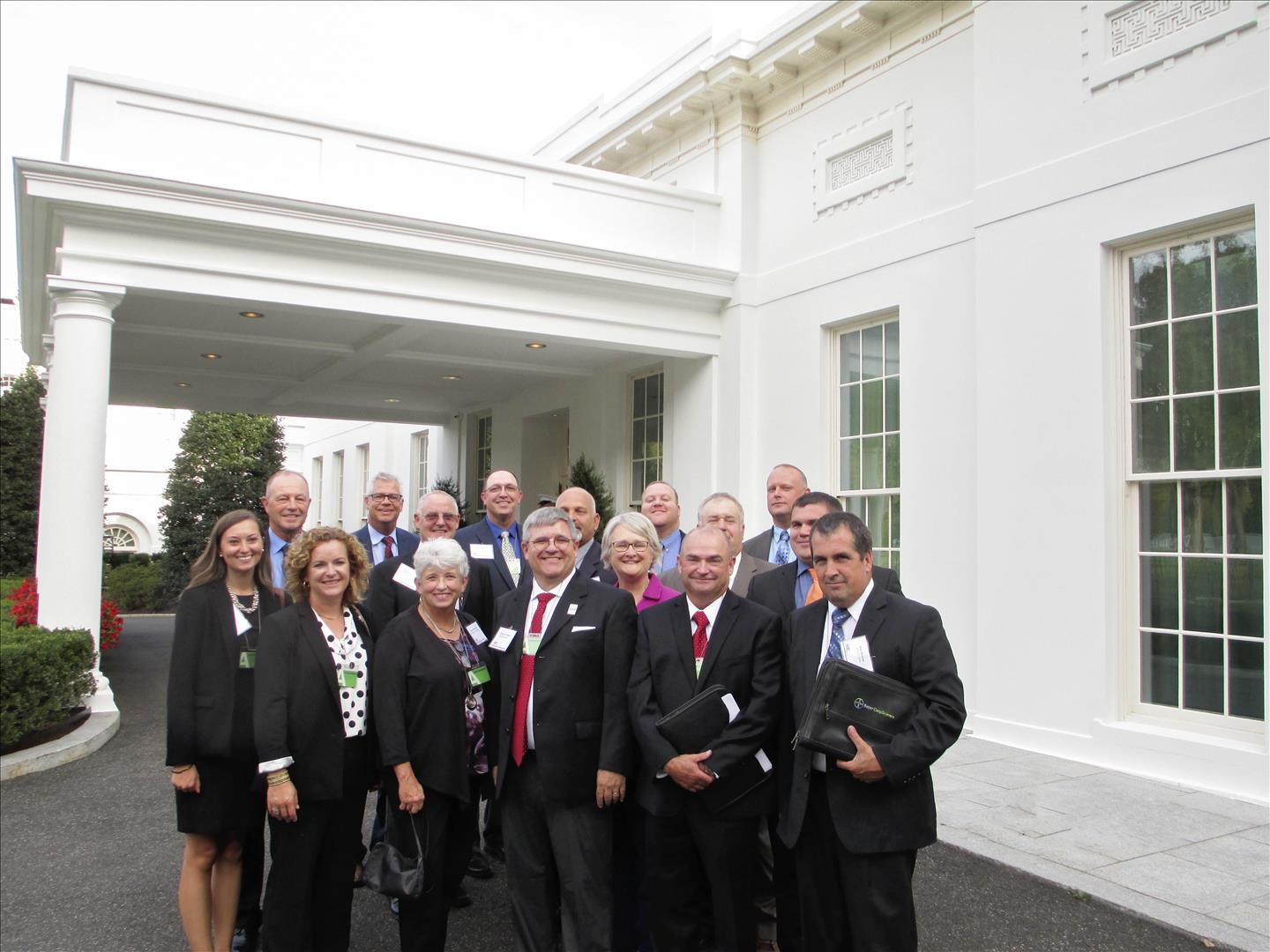 Farmers meet with U.S. legislators, staff in D.C.